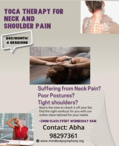 yoga therapy for neck and shoulder pain